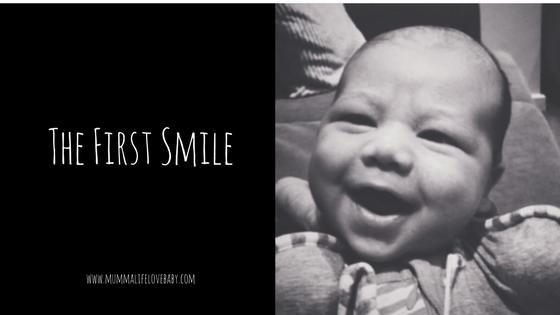 The First Smile - (c) mummalifelovebaby