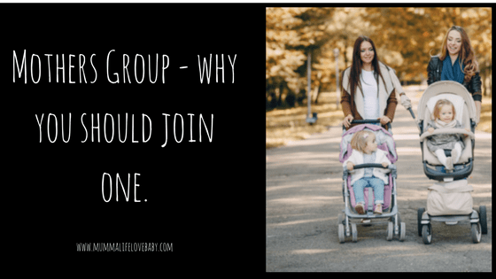 Mothers Group - why you should join one