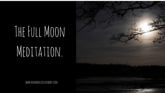 The Full Moon Meditation