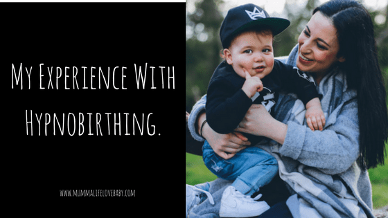 My Experience With Hypnobirthing