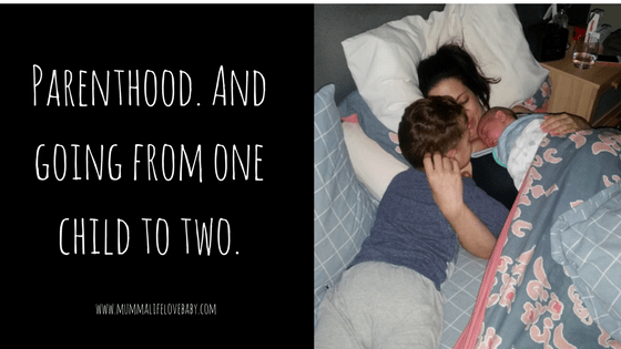 Parenthood. And Going From One Child To Two