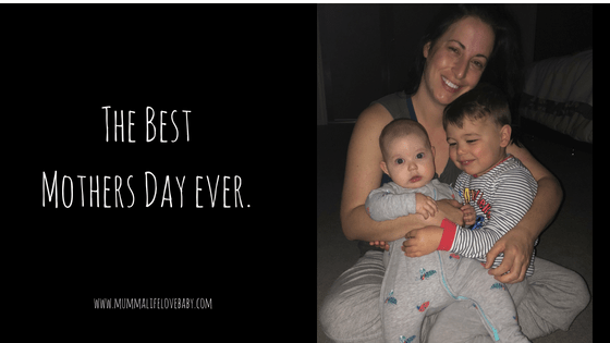 The Best Mothers Day Ever - Image (c) mummalifelovebaby